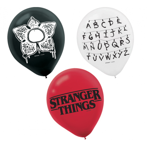 Stranger Things Latex Balloons 6 Pack