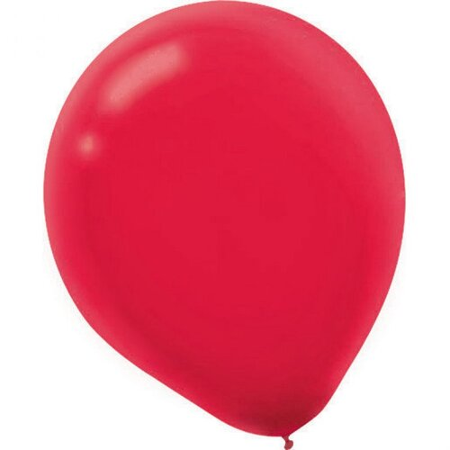 Latex Balloon 12cm  Apple Red 50 Pack