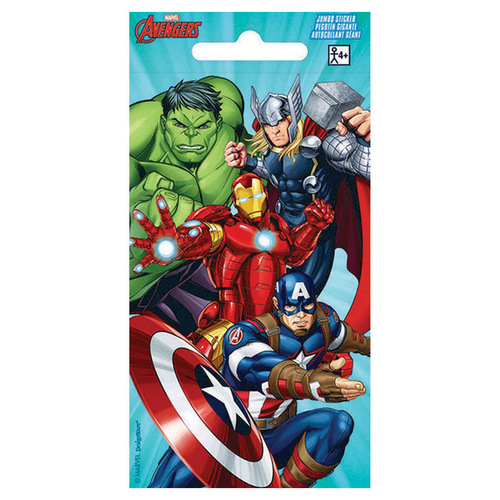 Stickers Jumbo Favor Avengers