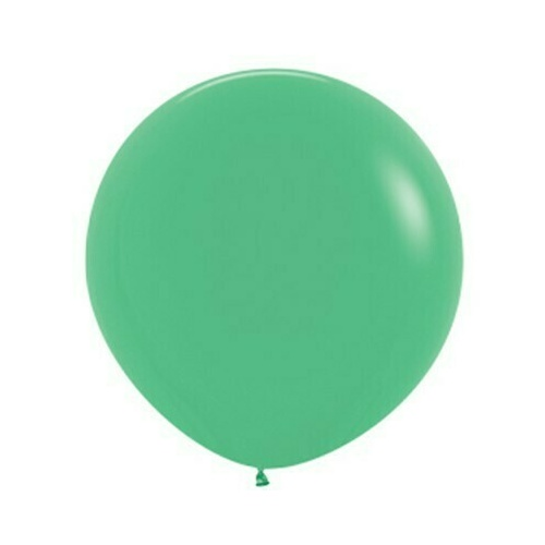 90cm Fashion Green Latex Balloons 2 Pack