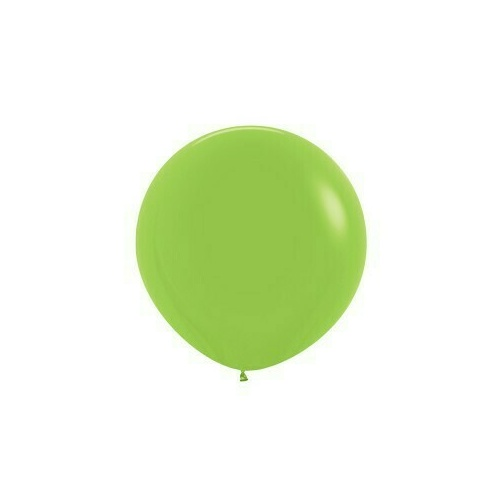 90cm Fashion Lime Green Latex Balloons 2 Pack