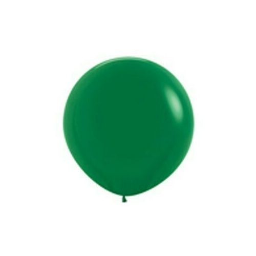 90cm standard Forest Green Latex Balloons 2 Pack