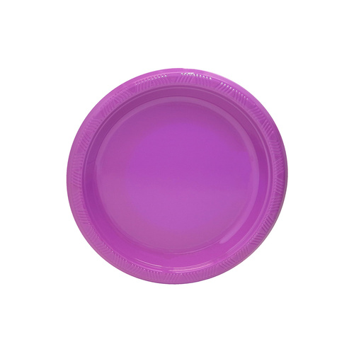 Pretty Purple 17.8cm 25 Pack Plastic Plates