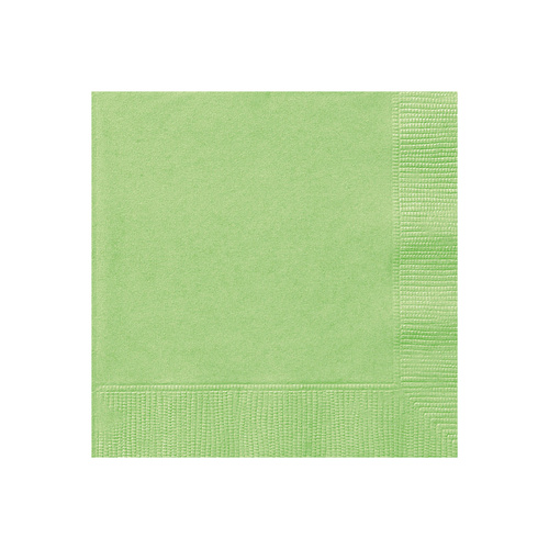 Apple Green Beverage Napkins 2ply 20 Pack