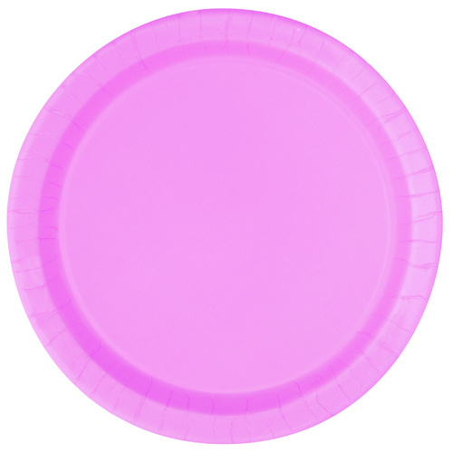 Lovely Pink Paper Plates 17cm 20 Pack