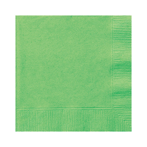 Lime Green Luncheon Napkins 2ply 20 Pack