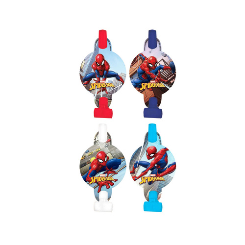 Spider-Man Webbed Wonder Blowouts 8 Pack (13cm)