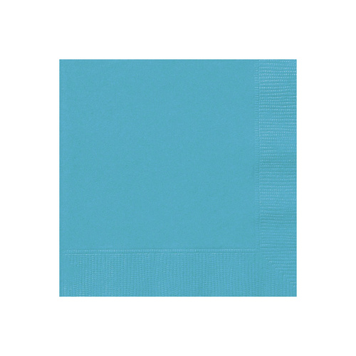 Caribbean Teal 20 Lunch Napkins
