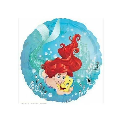 45cm Ariel Dream Big Little Mermaid Foil Balloon