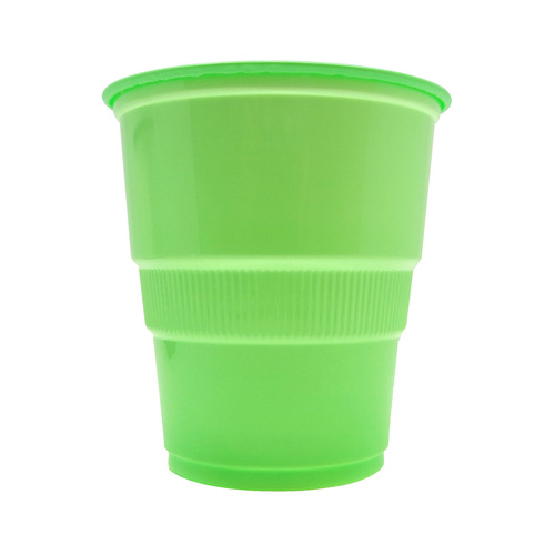 Apple Green Cups 270ml 12 Pack Cups