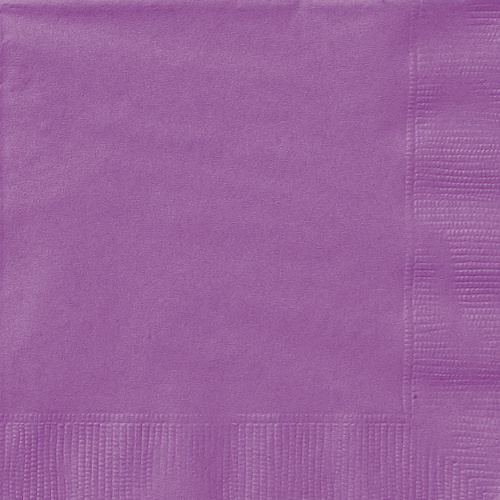 Pretty Purple Luncheon Napkins 2ply 20 Pack