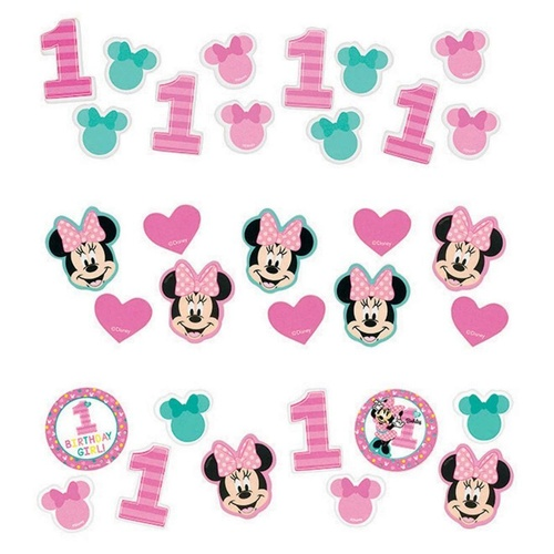 Minnie Fun To Be One Value Pack Confetti  34g - Paper
