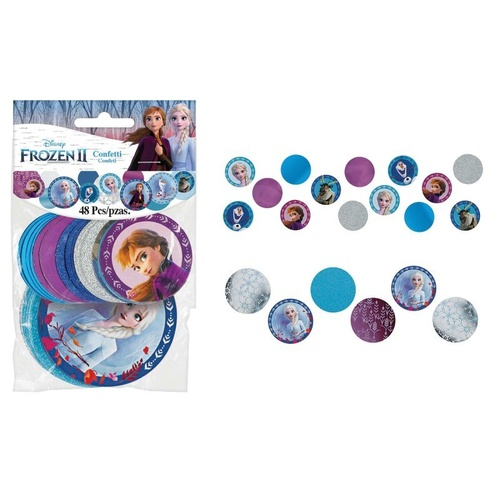 Frozen 2 Giant Confetti Circles 48 Pack