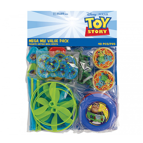 Toy Story 4 Mega Mix Favors Value Pack 48 Pack