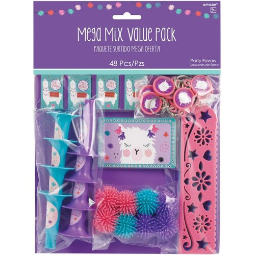 Llama Fun Mega Mix Favors Value Pack