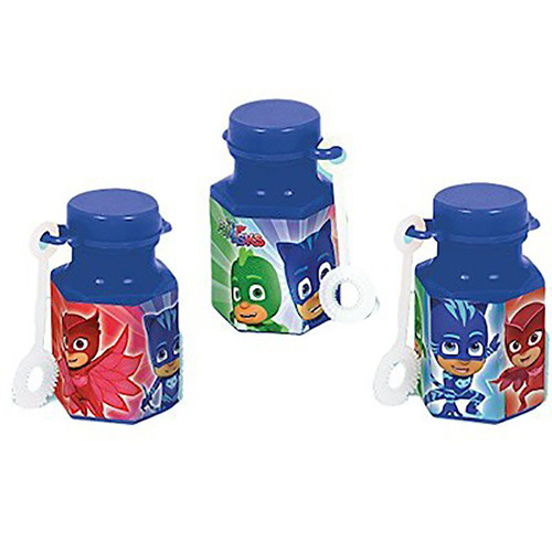 Pj Masks Mini Bubbles Favors (18ml) 12 Pack