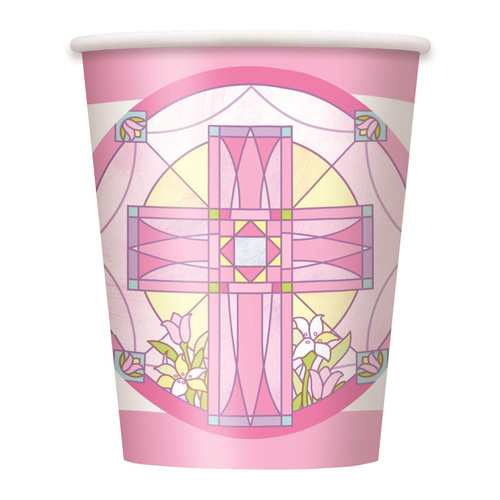 Sacred Cross Paper Cups 8 Pack 270ml