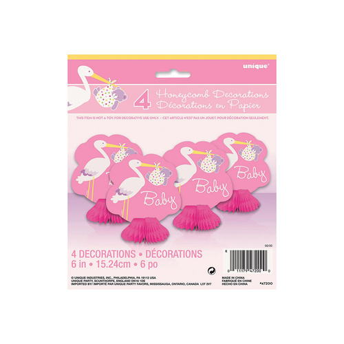 Girl stork 4 Mini H/Combs