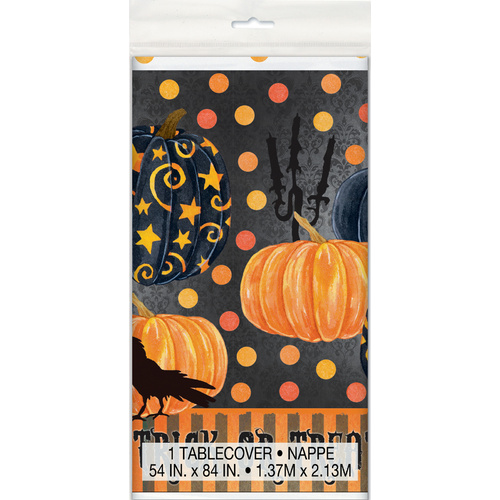 Painted Pumpkin Tablecover