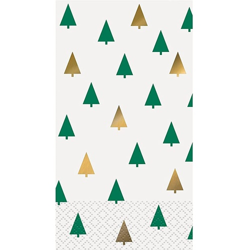 Chic Christmas 16 Guest Napkins