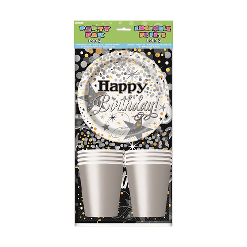 Glitter Birthday Party 8 Pack
