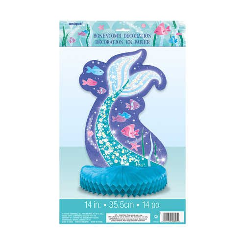 Mermaid Honeycomb Centrepiece