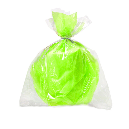 6 Lge Cello Bags - Clear