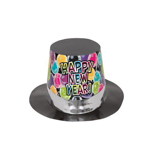 New Year's Balloons Top Hat