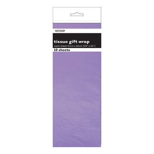 10 Tissue Sheets - Lavender