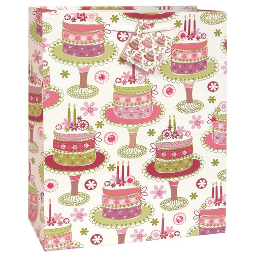 Gift Bag Birthday Cake Jumbo