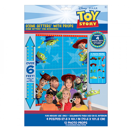 Toy Story 4 Scene Setter with Props 17 Pack
