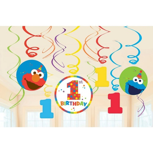 Elmo Turns One Swirl Value Pack
