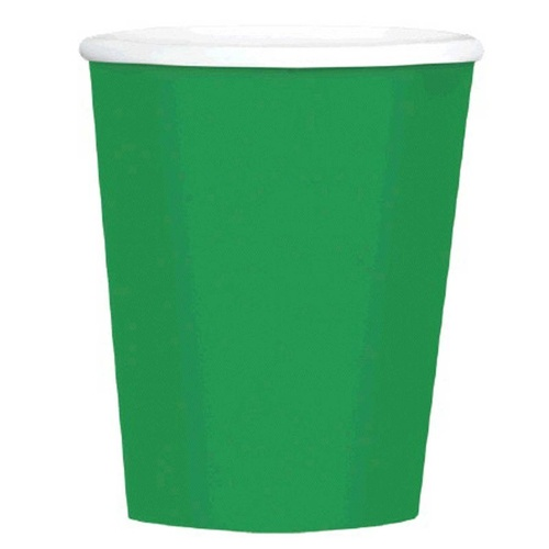 Big Party Pack 12oz/354ml Paper Coffee Cup Festive Green 40 Pack
