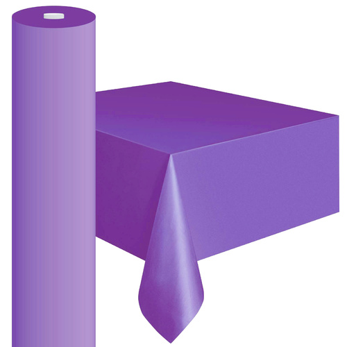 Plastic Table Roll Lavender