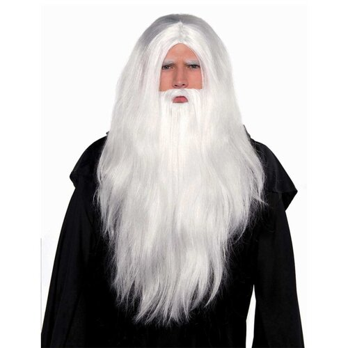 Sorcerer Wig and Beard Set