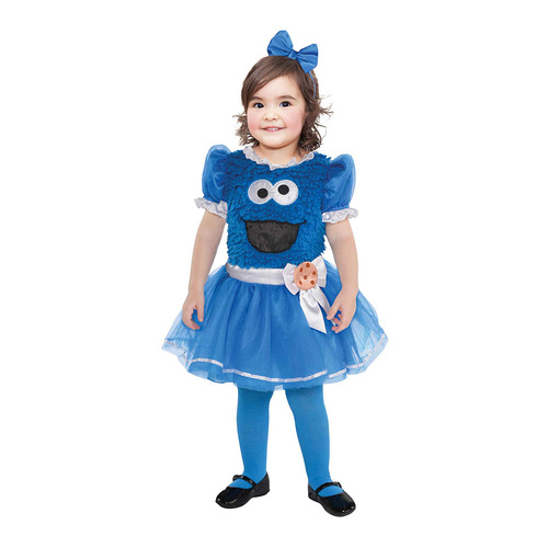 Costume Cookie Monster Girl 18-24months