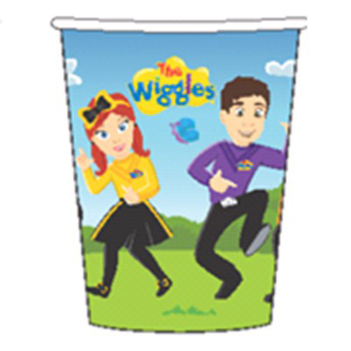 The Wiggles 266ml Cup 8 Pack