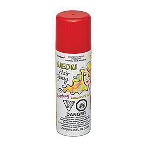 Hair Spray - Neon Red 133 ml