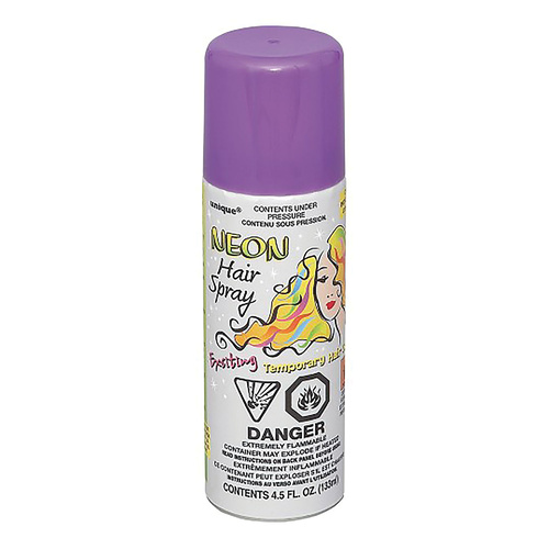 Hair Spray - Neon Purple