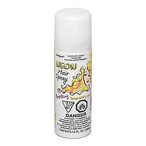 Hair Spray - Neon White 133 ml