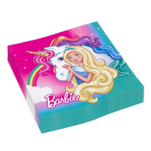 Barbie Dreamtopia Lunch Napkins 20 Pack