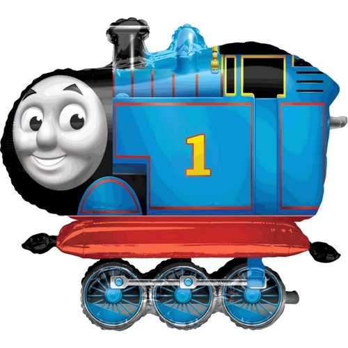 Airwalker thomas the Tank Engine (91cm Wide x 78cm High) Foil Balloon