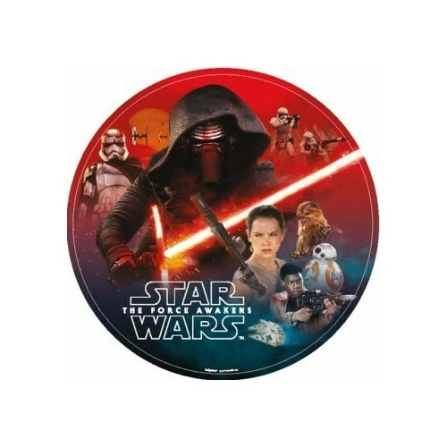 star Wars Episode 7  18cm 8 Pack Luncheon Paper Plates