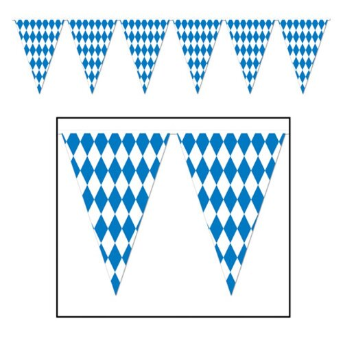Banner Pennant Giant Oktoberfest (43cm High x 36.5M Long)