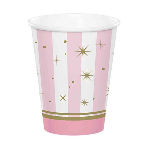 Twinkle Toes Cups Paper 266ml 8 Pack