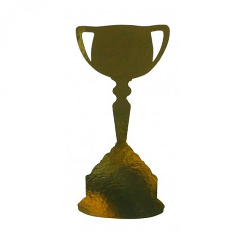 200Mm Cutouts Trophy Cup Gold