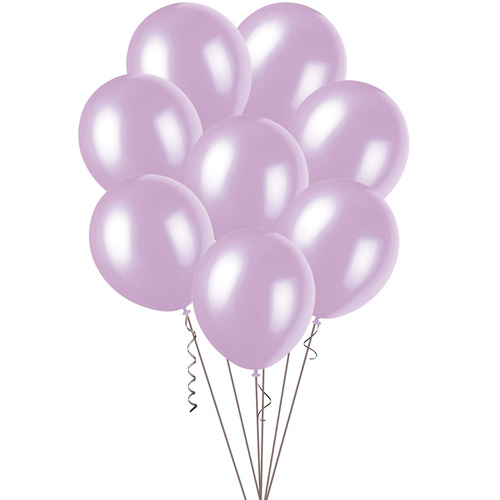 Lavender - 100 x 30cm (12) Pearl Balloons