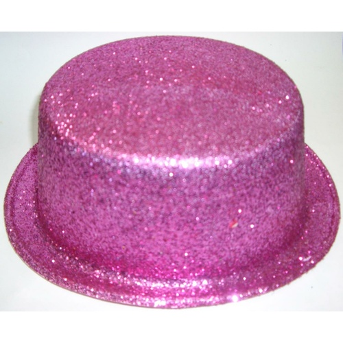 Glitter Hat - Pink Top